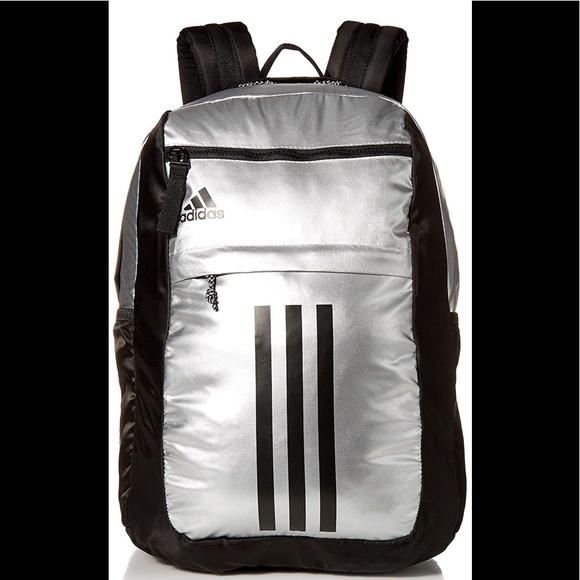 Adidas League 3 Stripe Backpack NWT